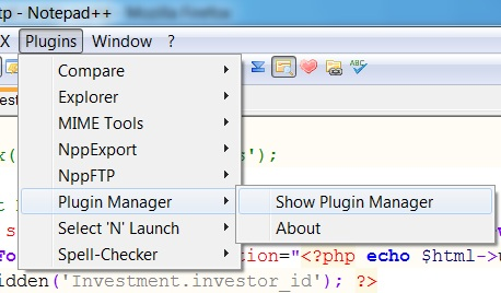 Adding Explorer (file browser) plugin to Notepad++