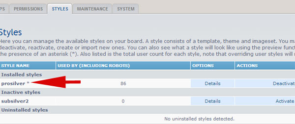 How to create a custom template for phpBB