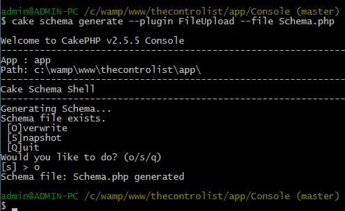 cakephp-generate-plugin-schema
